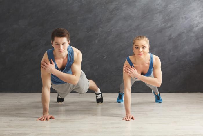 هناك طرق تجعلها تقوي كذلك عضلات البطن مما يساعد على ممارسة الرياضة بطريقة أكثر حيوية