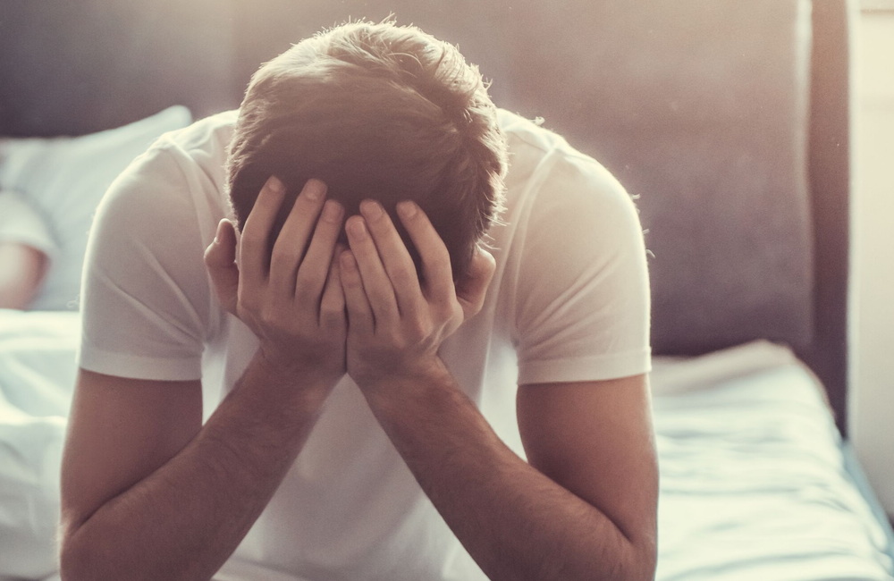 Psychological causes of erectile dysfunction.
